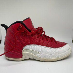 Nike Air Jordan Boys 12 Retro Red Basketball Shoes
